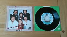 """Exile Kiss You All Over 1978 Japanese 7"""" Single Insert VG/Ex Funk Rock Soul"""