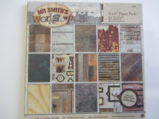"Mr Smith's Workshop 6""x6"" Paper Pack"