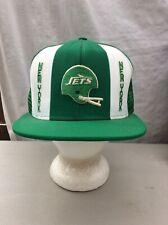 trucker hat baseball cap Vintage Snapback Mesh Retro New York Jets NFL large