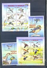 GAMBIA DUCKS OF THE WORLD  2002   MNH
