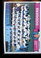 1979 TOPPS TEAM CARD #526 TOM LASORDA DODGERS NM/MT D016960