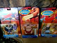 DISNEY TRIBOW AND HYDRA SLAYING HERCULES AND CYCLOPS FIGURES, NEW, MIB, UNOPENED