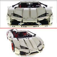 Technic Huracan Car Racecar 42056 42083 42096 42110 Building Blocks Bricks MOC h