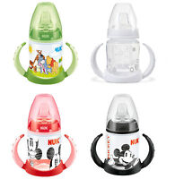 LEARNER BOTTLE NON SPILL NUK 150ml 6 M+ MONTHS BPA FREE FIRST CHOICE ANTI COLIC