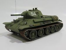 MY2055 - 1/35 PRO BUILT - Resin Kombrig Soviet T-34 Mod.1940 Initial on Metal Ha