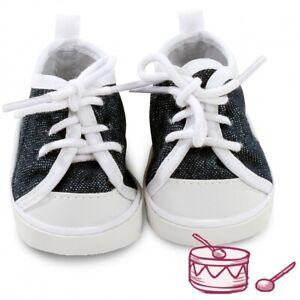 Götz Puppenkleidung Schuhe Denim Turnschuhe 3402544 Größe M-XL  Neu & Ovp