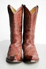 Botas SENDRA trenzado ( Braided Leather Cowboy Western Boots ) EU 46 / UK 11