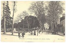 CPA 03 - MOULINS (Allier) - 123. L'Avenue Nationale et le Jardin Public - ND