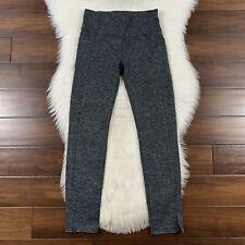 Athleta Women's Size Small Tall Black White Herringbone Mercer Tight Pants