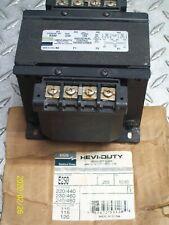 EGS HEVI-DUTY E250 .250 KVA TRANSFORMER PRI: 220/480V SEC: 120V