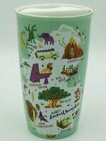NWT 2020 Disney Parks Exclusive Animal Kingdom Starbucks Ceramic Tumbler mug