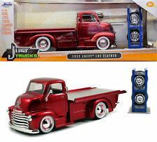 Jada 1:24 W/B Just Trucks - 1952 Chevrolet Coe Flatbed With Extra Wheels 97688