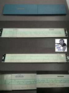 Nestler special Oilrule Nr. 0320 slide rule in box rare #