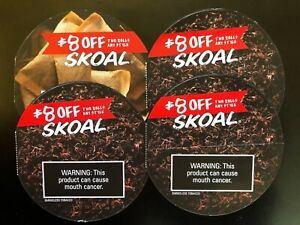 Skoal(4) $8.00 off 2 rolls! Total of $32.00 in savings!