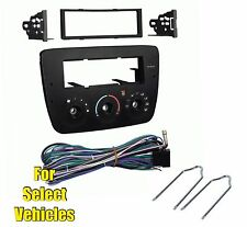 Car Stereo Radio Install Dash Kit Combo for 2004-2007 Ford Taurus/Mercury Sable