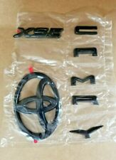 2018-2019 Toyota Camry XSE  Blackout Emblem Overlays
