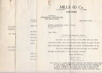 W.Woods & MILLS & CO. 1932 Oxenpark Avenue, Property Take Over Letters Ref 46437