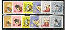 NORTH VIET NAM Sc 509-14 NH ISSUE OF 1968 - PERF & IMPERF - HANDICRAFRTS
