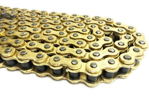 Motorcycle Drive Chain 520H-108 GOLD for Lexmoto LXR 125  [ SY125-10 ]