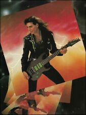 Steve Vai Signature Ibanez Universe Uv70P Bk Jem guitar 8 x 11 pin-up photo 2B
