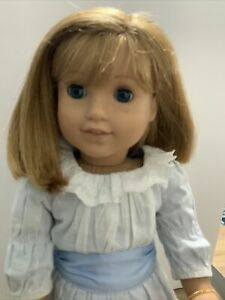 American Girl NELLIE  Doll Historical Samantha's Friend -  Meet Dress VGC