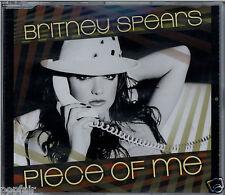 BRITNEY SPEARS - PIECES OF ME (ALBUM VERSION)/(BOZ O LO REMIX) 2008 UK CD SINGLE