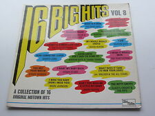 TAMLA MOTOWN LP ORIGINAL 1970 UK LP 16 BIG HITS VOLUME 8
