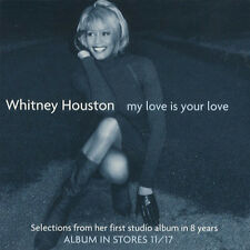 (CD - Sleeve) Whitney Houston - My Love Is Your Love (6-Track EP Promo/Sampler)