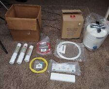 UNUSED Honeywell REVERSE OSMOSIS FILTRATION SYSTEM w Storage Tank 50045947-001