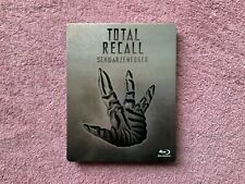 Total Recall Steelbook (Blu-Ray) Arnold Schwarzenegger, Rare - OOP - NO DIGITAL!