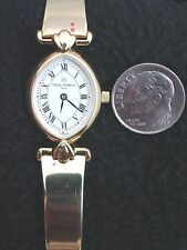 NEW Vintage French Michel Herbelin Ladies Corynthe Watch Gold