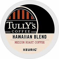 Tully's Extra Bold Coffee Keurig K-Cups - Hawaiian Blend, 96 Ct