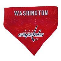 Washington Capitals NHL Licensed Pets First Dog Pet Reversible Bandana 2 Sizes