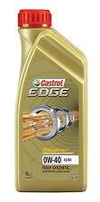 CASTROL CAR VAN ENGINE MOTOR OIL -Edge 0W-40 A3/B4 PC - 1 Litre