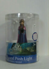 Idea Nuova Figural Push Light Night Light Tabletop Disney Frozen Anna