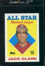1988 Topps Tiffany All Star #397 Jack Clark St Louis Cardinals