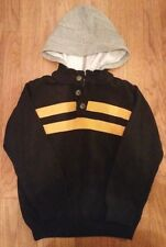 Gymboree AHOY MATEY Navy Blue Hooded Sweater BOYS SIZE M 7 8 7-8  EUC