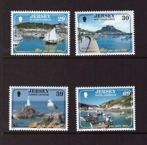 Jersey MNH 2004 Europa CEPT Holidays set mint stamps