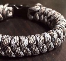 Paracord Survival Bracelet Snake Weave USA CUSTOM MADE TJParacord
