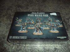 Space Wolves Pack - Warhammer 40k 40,000 Games Workshop Model New! 10 Man Squad