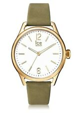 Ice Watch - Khaki Champagne - Women's Wristwatch with Leather Strap  - 013058-IN