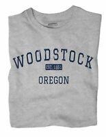 Woodstock Oregon OR T-Shirt Portland EST