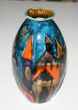 Elio Shiavon Vase Italy Italien Kunstkeramik italian abstract art Déco