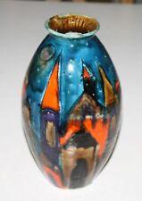 Elio shiavon VASO ITALY ITALIA arte ceramica Italian Abstract Art vetrini