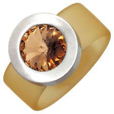 Modeschmuck-Ringe ohne Stein mit 54 (17,2 mm Edelstahl-Ø)