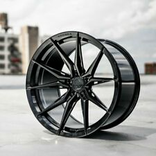 20 Staggered ROHANA RFX13 Wheels Rims Set 4 BLACK FORGED 2015+ Mustang GT Eco PP