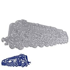 Train Metal Cutting Dies Stencil For DIY Scrapbooking Paper Cards Gift Decor New