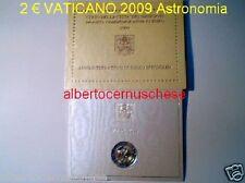 2 euro 2009 folder VATICANO Vatican Vatikan Astronomia Ватикан