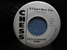 ETTA & HARVEY: If I Can't Have You/ My Heart Cries (45) Soul - Promo