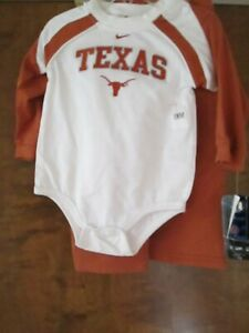 """""""University of Texas"""" BABY 2 Piece Outfit Jacket & Pants (18 Months) New W/Tags"""
